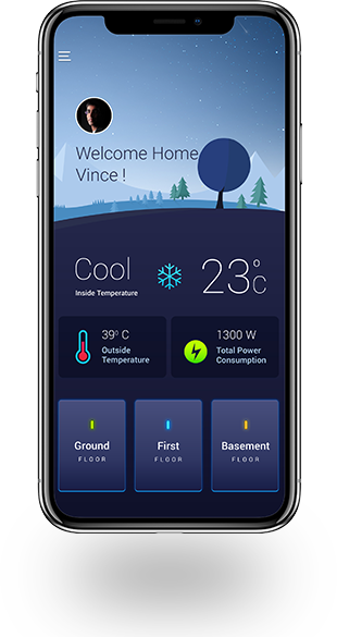 Home Automation System - Track The Power Consumption