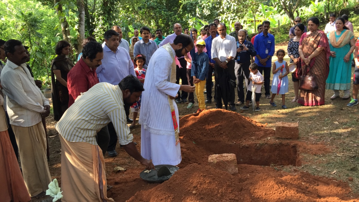 ClaySys Heights Villa Stone Laying Ceremony