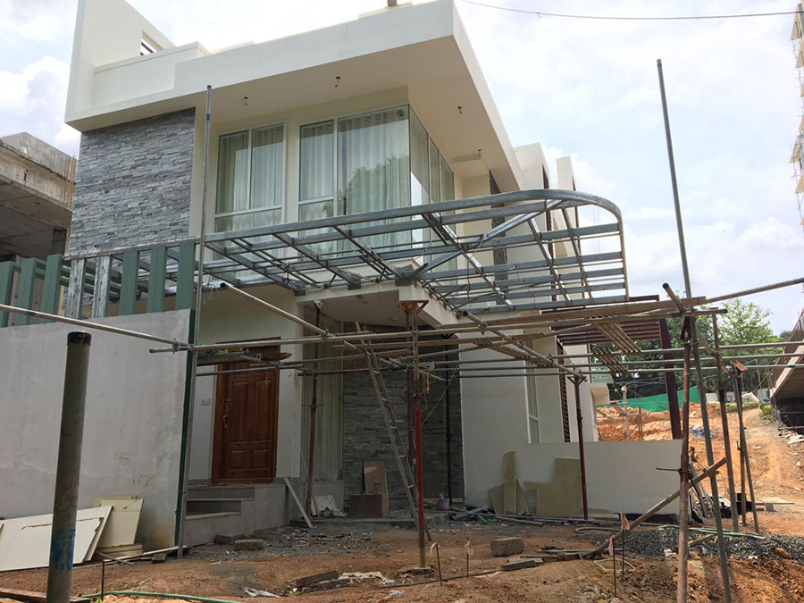 ClaySys Heights Villa Work In Progress (May)