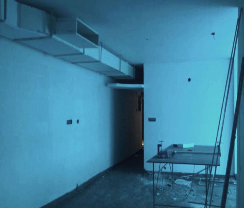 Villa Air Conditioning In Progress (Apr)