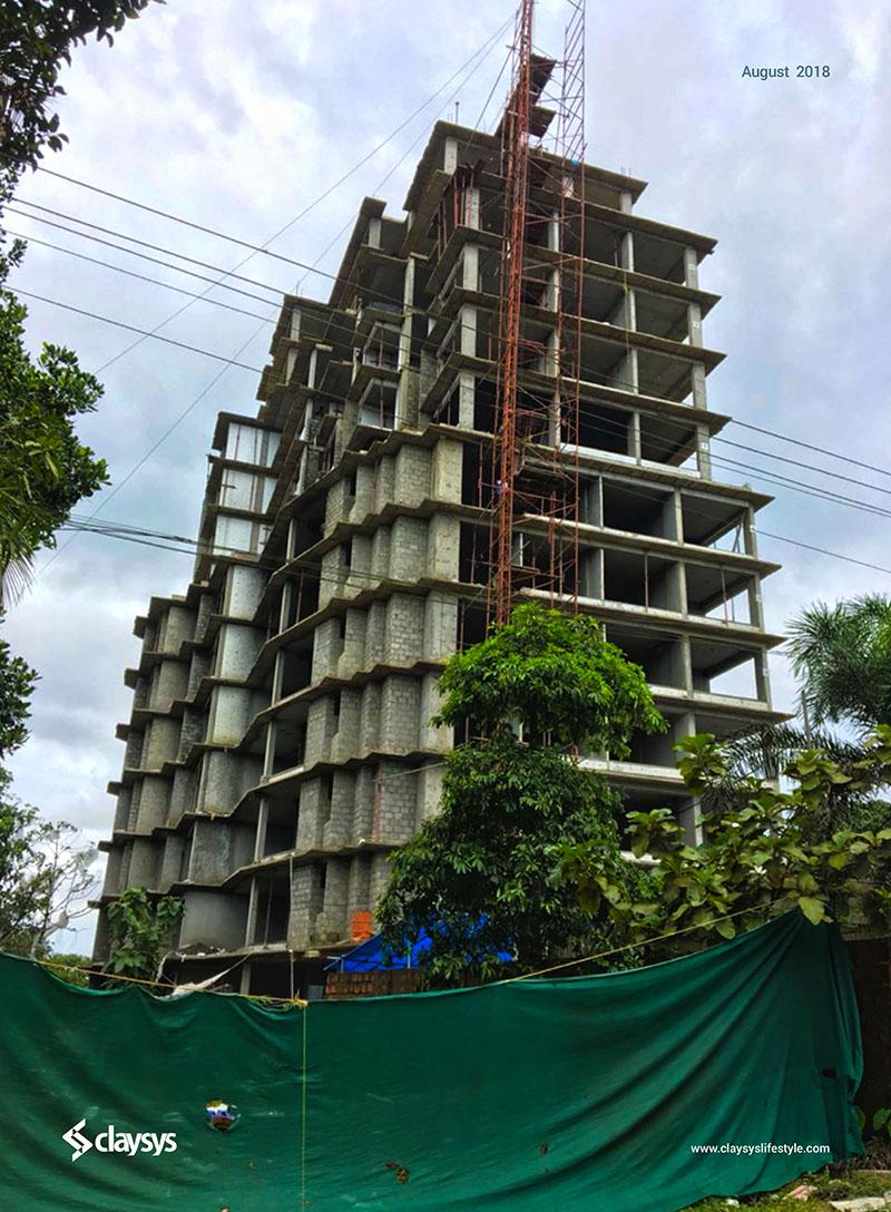 Apartment Exterior Work In Progress (Aug)