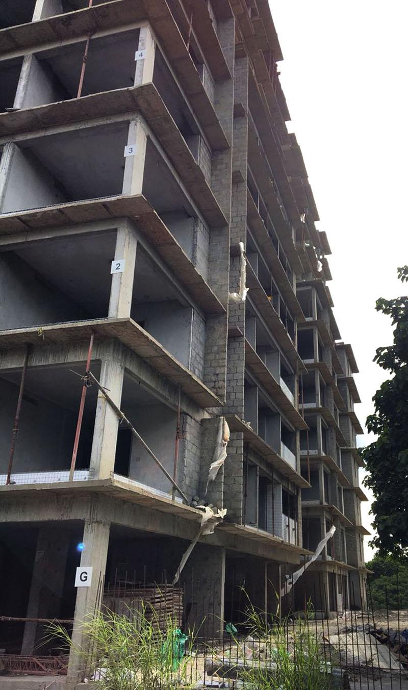 Apartment Exterior View (Jul)